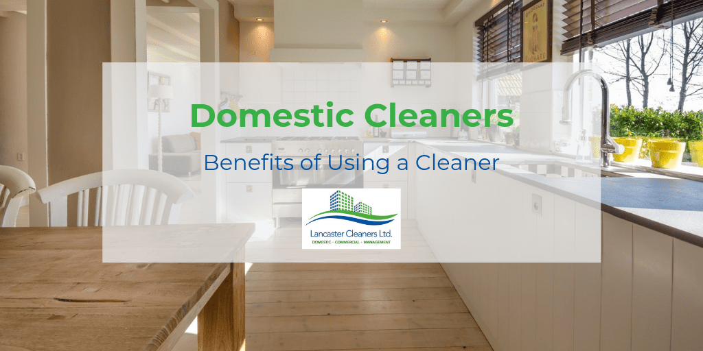 Benefits of Using a Cleaner